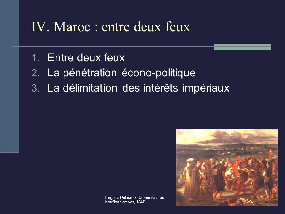 IV. Maroc : entre deux feux