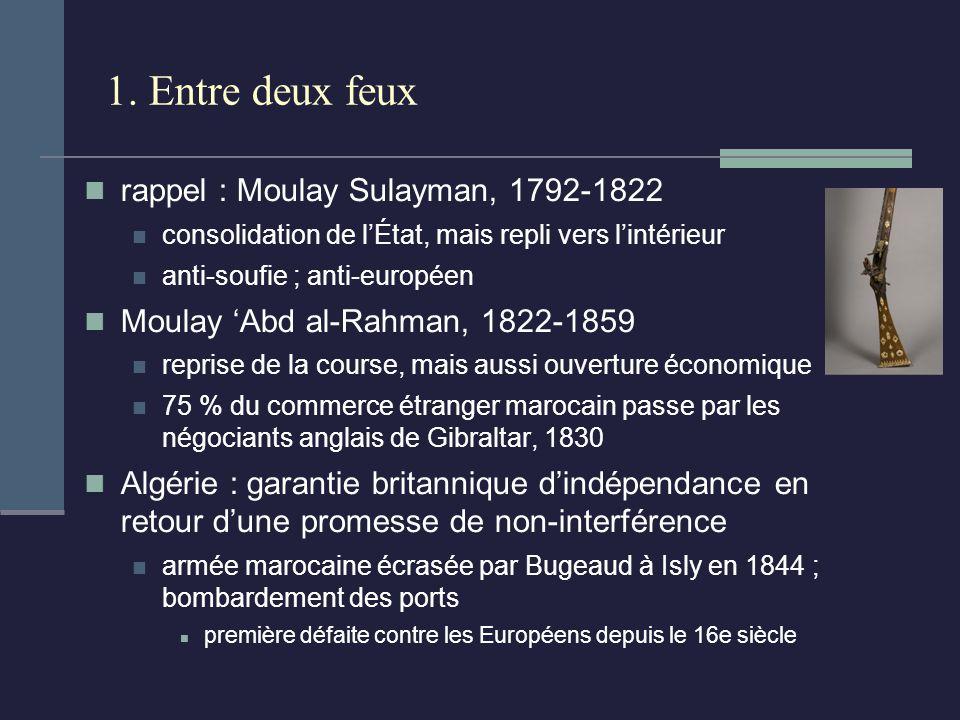 1. Entre deux feux rappel : Moulay Sulayman, 1792-1822