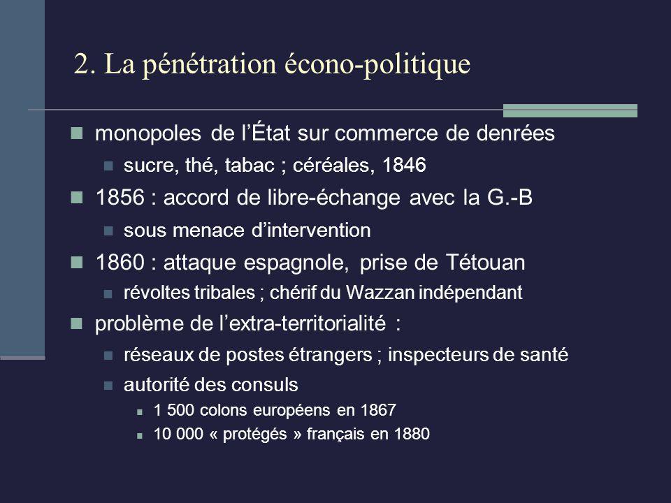 2. La pénétration écono-politique