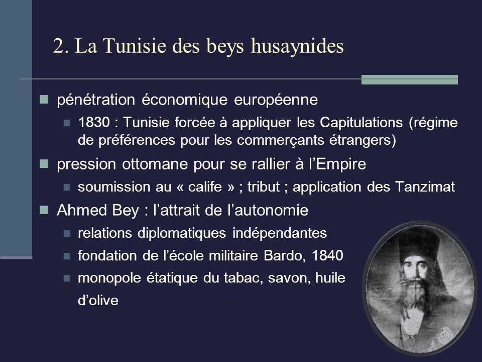 2. La Tunisie des beys husaynides