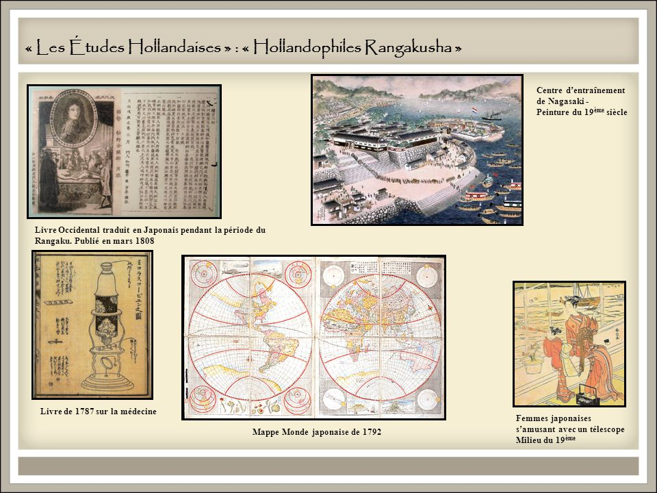 « Les Études Hollandaises » : « Hollandophiles Rangakusha »