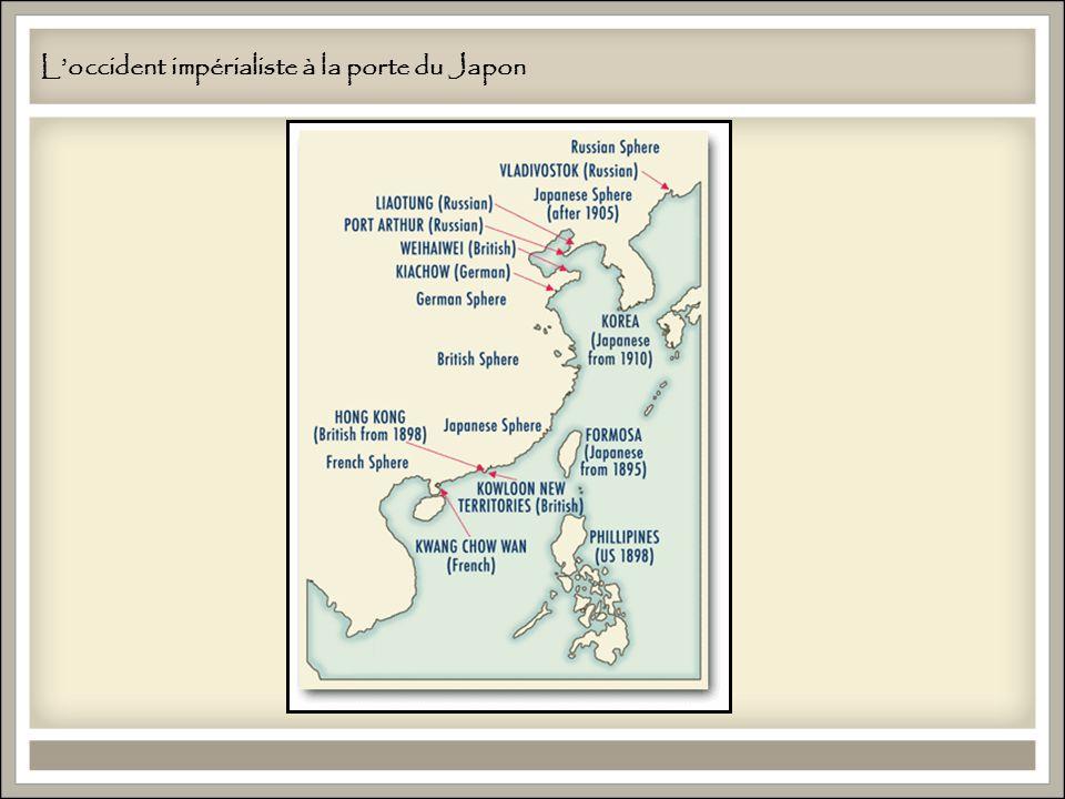 L'occident impérialiste à la porte du Japon