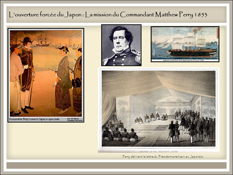 L'ouverture forcée du Japon : La mission du Commandant Matthew Perry 1853