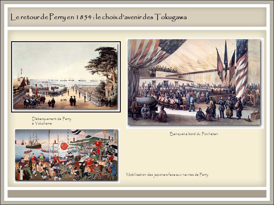 Le retour de Perry en 1854 : le choix d'avenir des Tokugawa