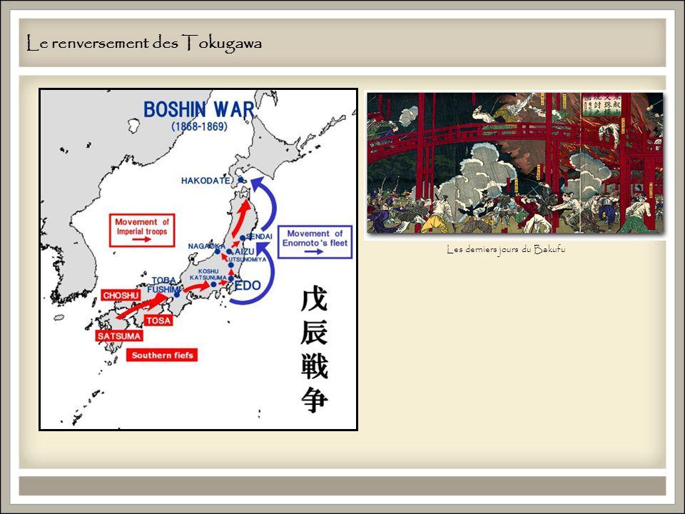 Le renversement des Tokugawa