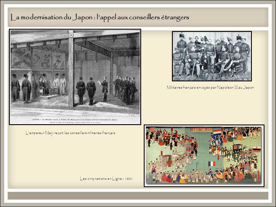 La modernisation du Japon : l'appel aux conseillers étrangers