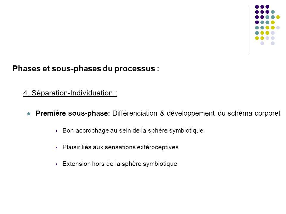 Phases et sous-phases du processus :