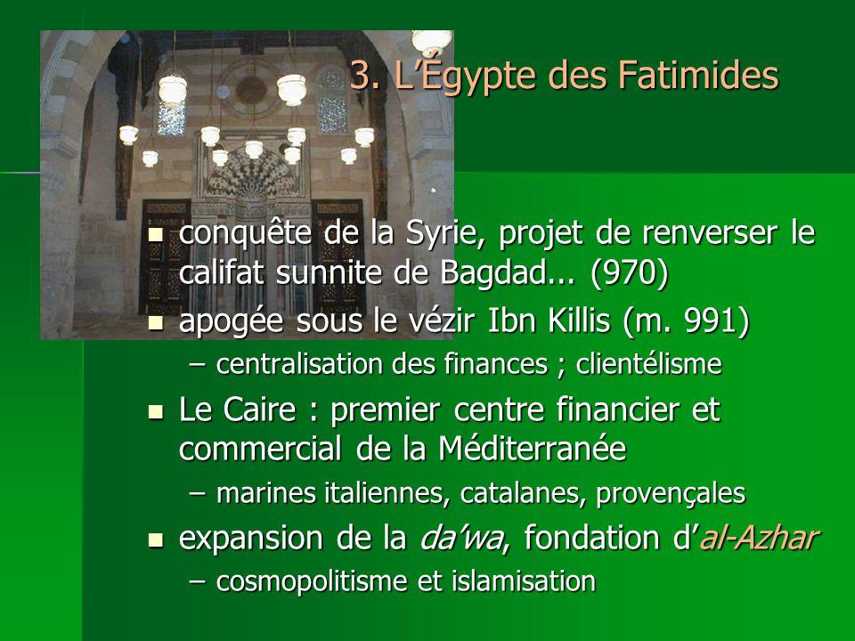3. L'Égypte des Fatimides