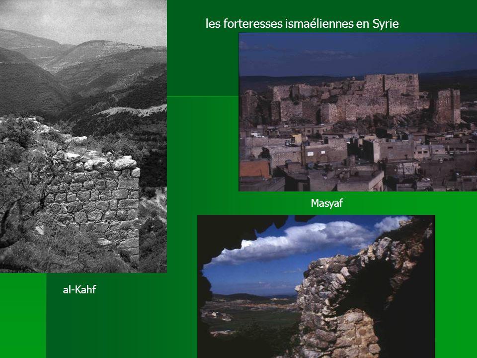 les forteresses ismaéliennes en Syrie