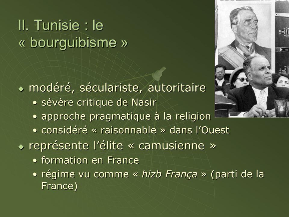 II. Tunisie : le « bourguibisme »