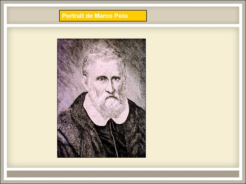 Portrait de Marco Polo