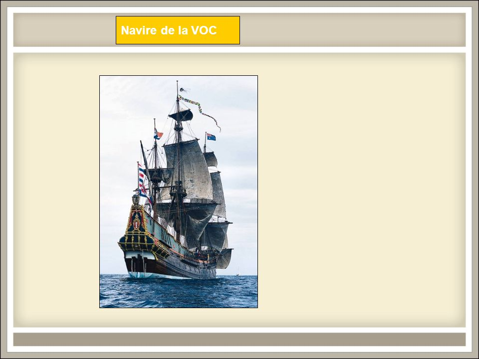 Navire de la VOC