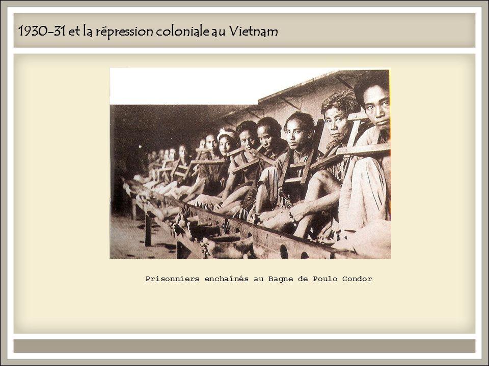 1930-31 et la répression coloniale au Vietnam