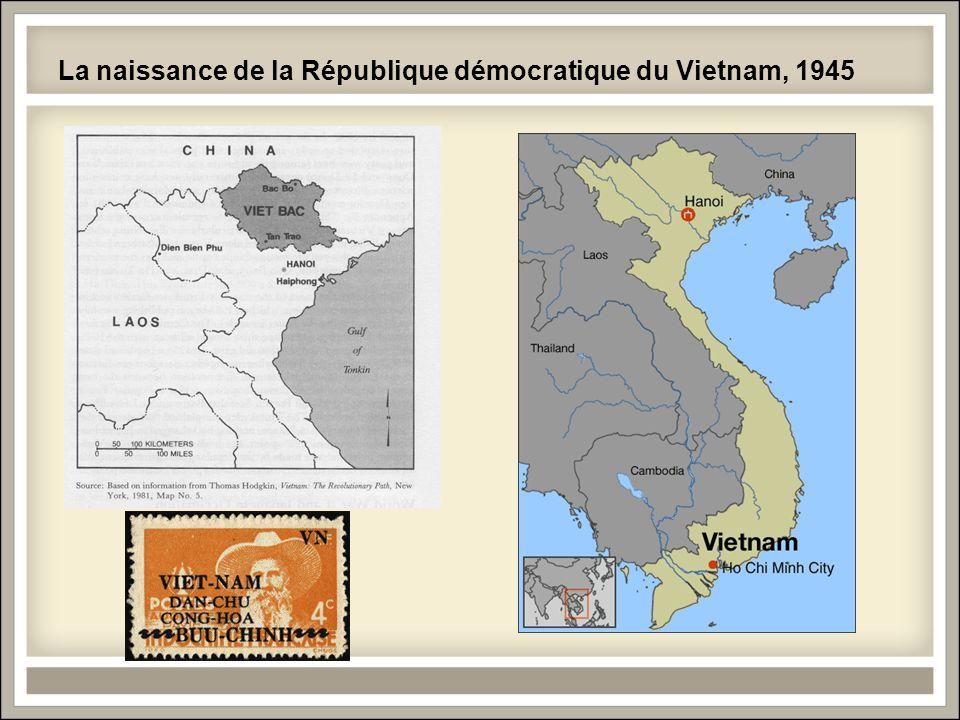 La naissance de la République démocratique du Vietnam, 1945