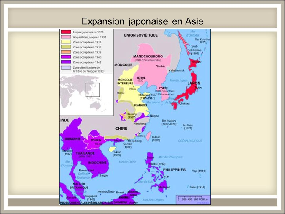 Expansion japonaise en Asie