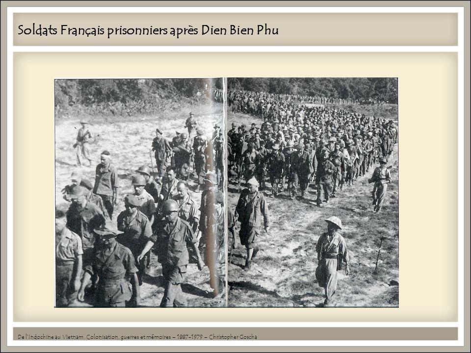 Soldats Français prisonniers après Dien Bien Phu