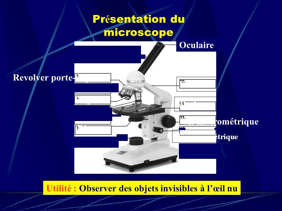 Présentation du microscope
