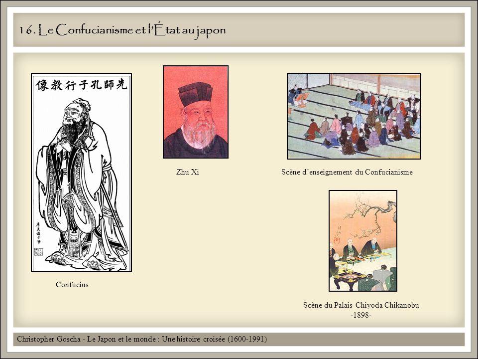 16. Le Confucianisme et l'État au japon