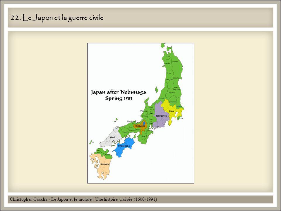 22. Le Japon et la guerre civile