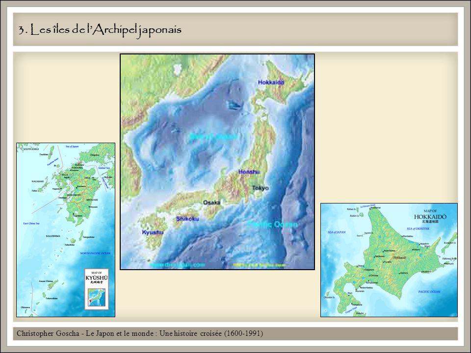 3. Les îles de l'Archipel japonais