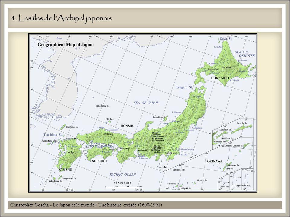 4. Les îles de l'Archipel japonais