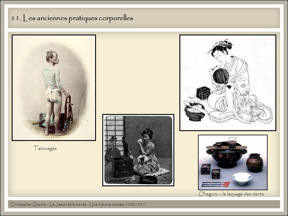 11. Les anciennes pratiques corporelles