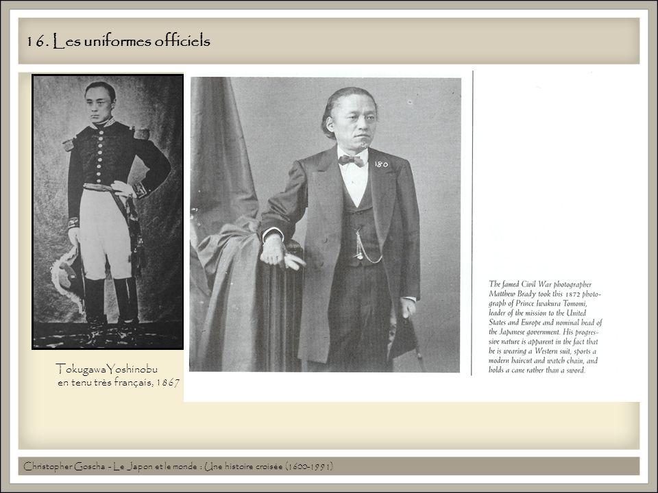 16. Les uniformes officiels
