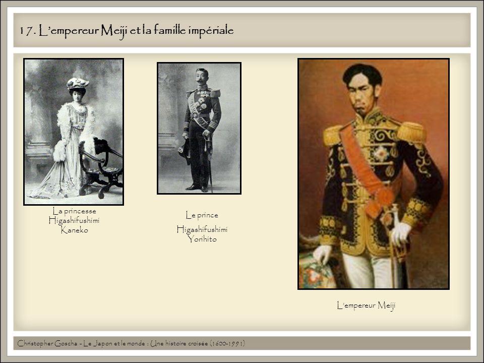 17. L'empereur Meiji et la famille impériale