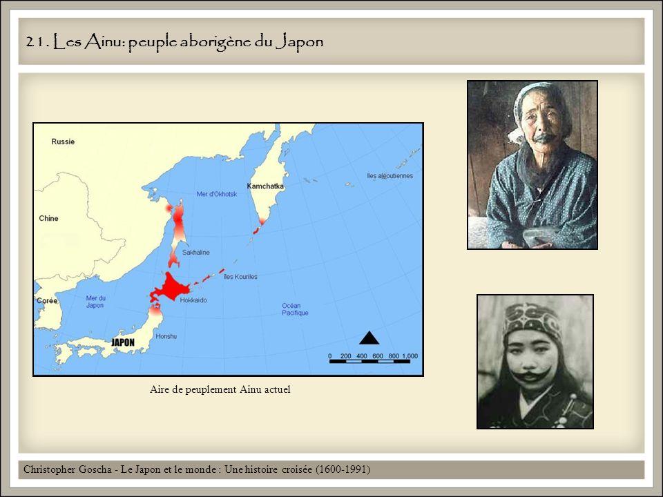 21. Les Ainu: peuple aborigène du Japon
