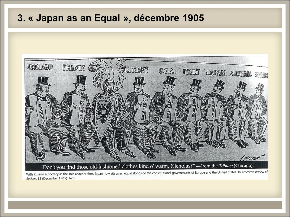 3. « Japan as an Equal », décembre 1905