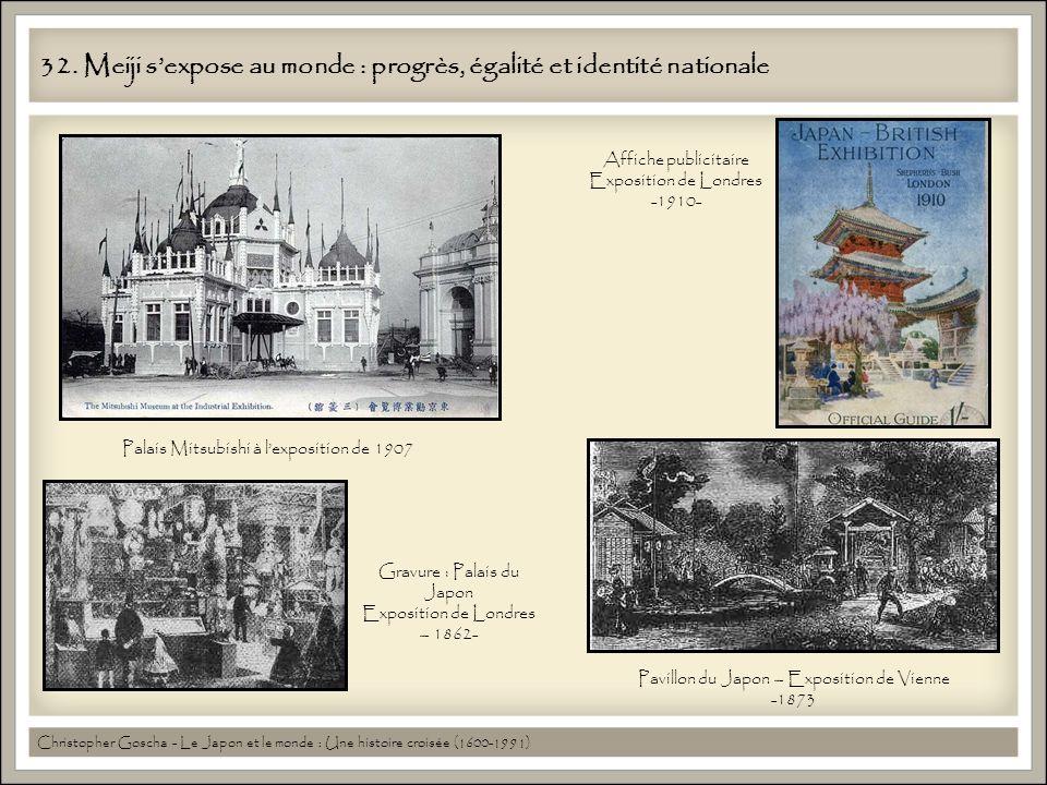 32. Meiji s'expose au monde : progrès, égalité et identité nationale