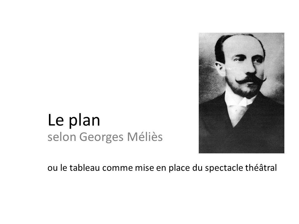 Le plan selon Georges Méliès