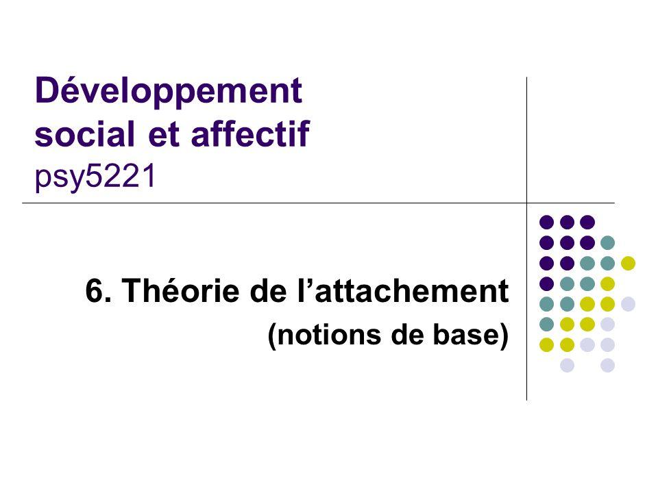 Développement social et affectif psy5221