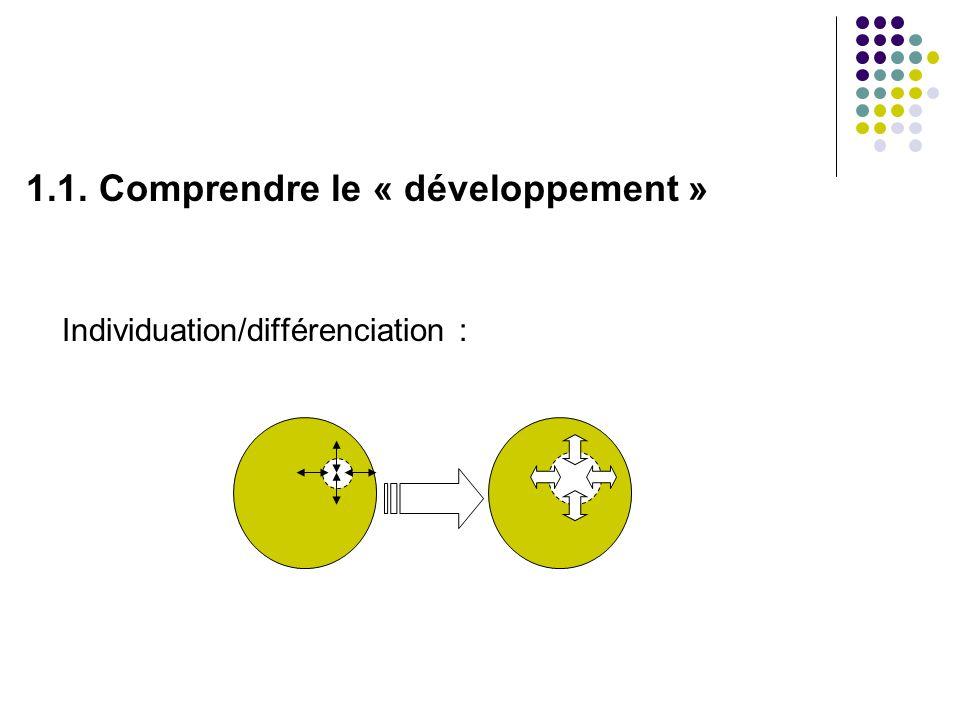 1.1. Comprendre le « développement »