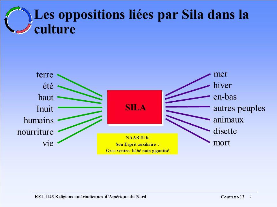 Les oppositions liées par Sila dans la culture
