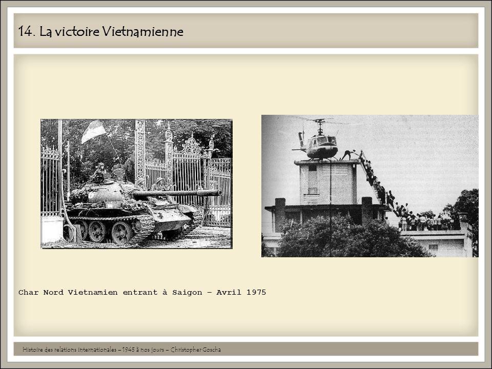 14. La victoire Vietnamienne