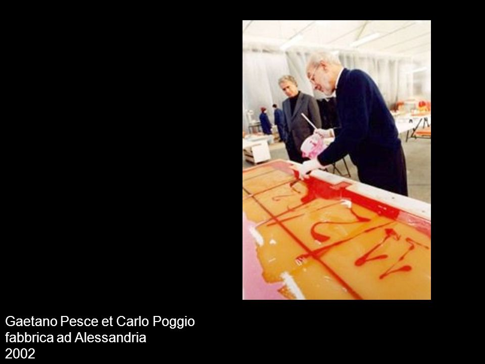 Gaetano Pesce et Carlo Poggio