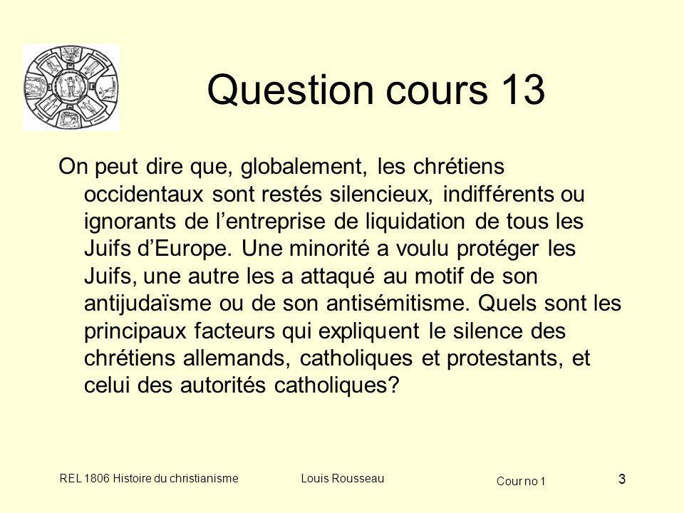 Question cours 13
