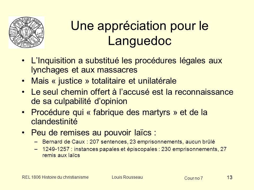 Une appréciation pour le Languedoc