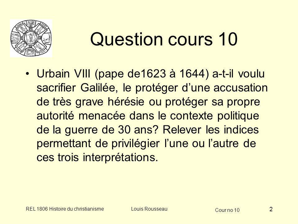 Question cours 10
