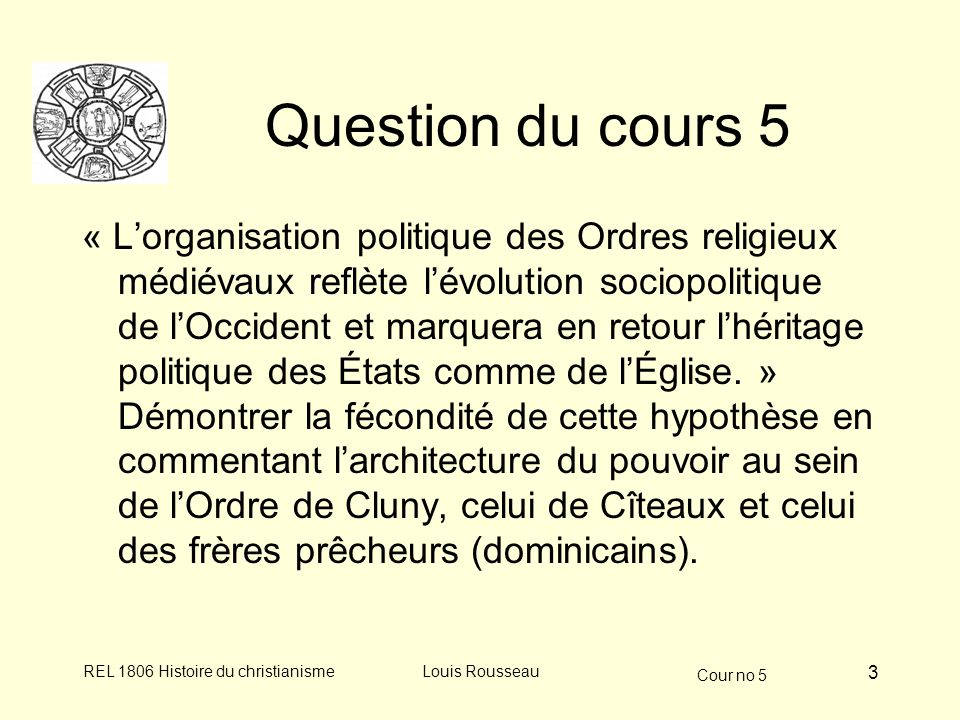 Question du cours 5