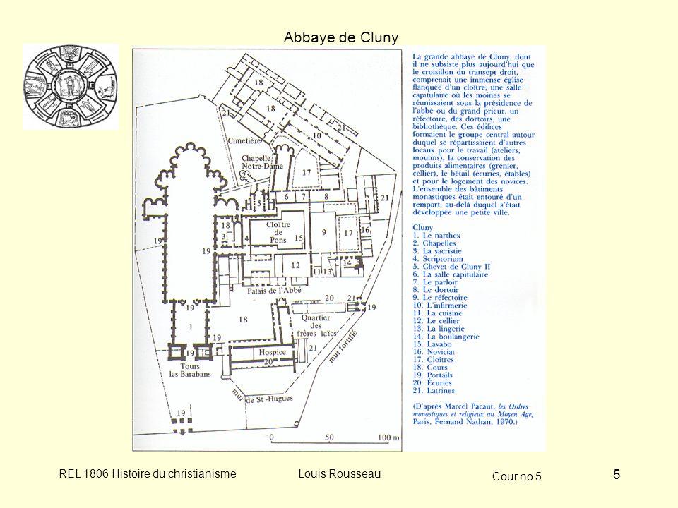 Abbaye de Cluny Louis Rousseau