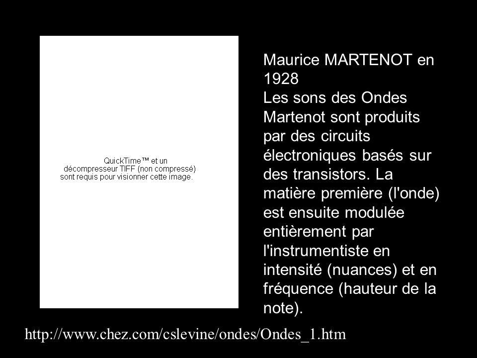 Maurice MARTENOT en 1928