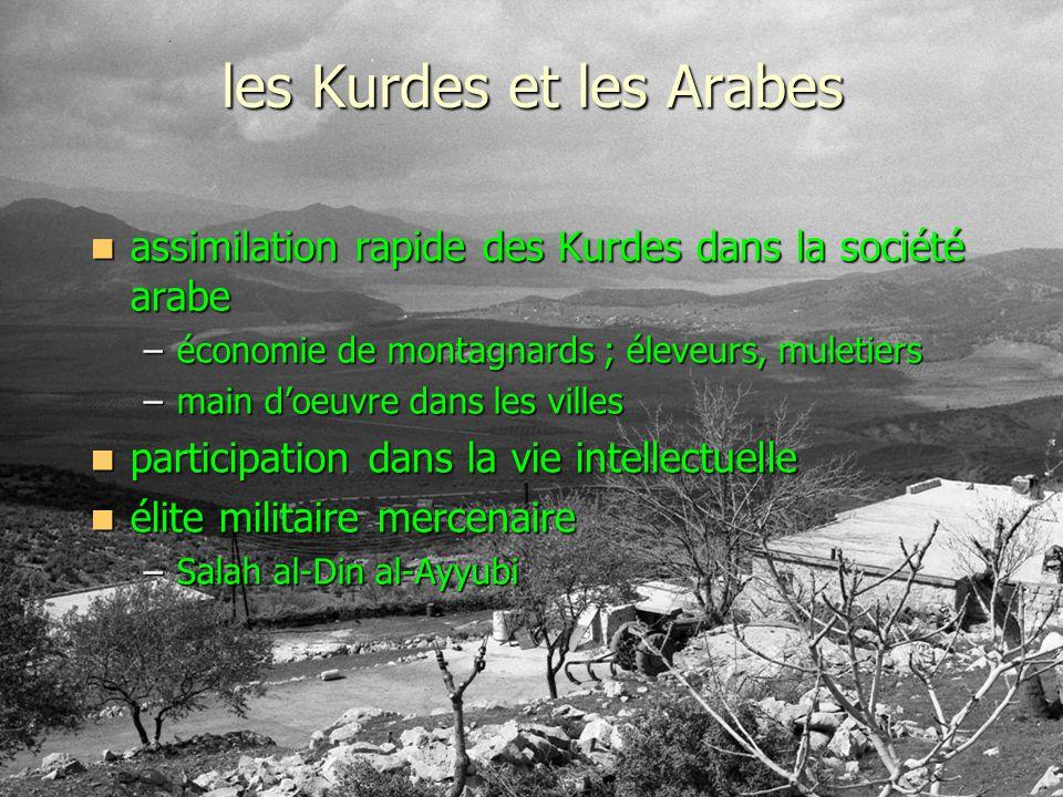 les Kurdes et les Arabes