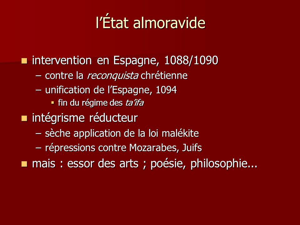 l'État almoravide intervention en Espagne, 1088/1090