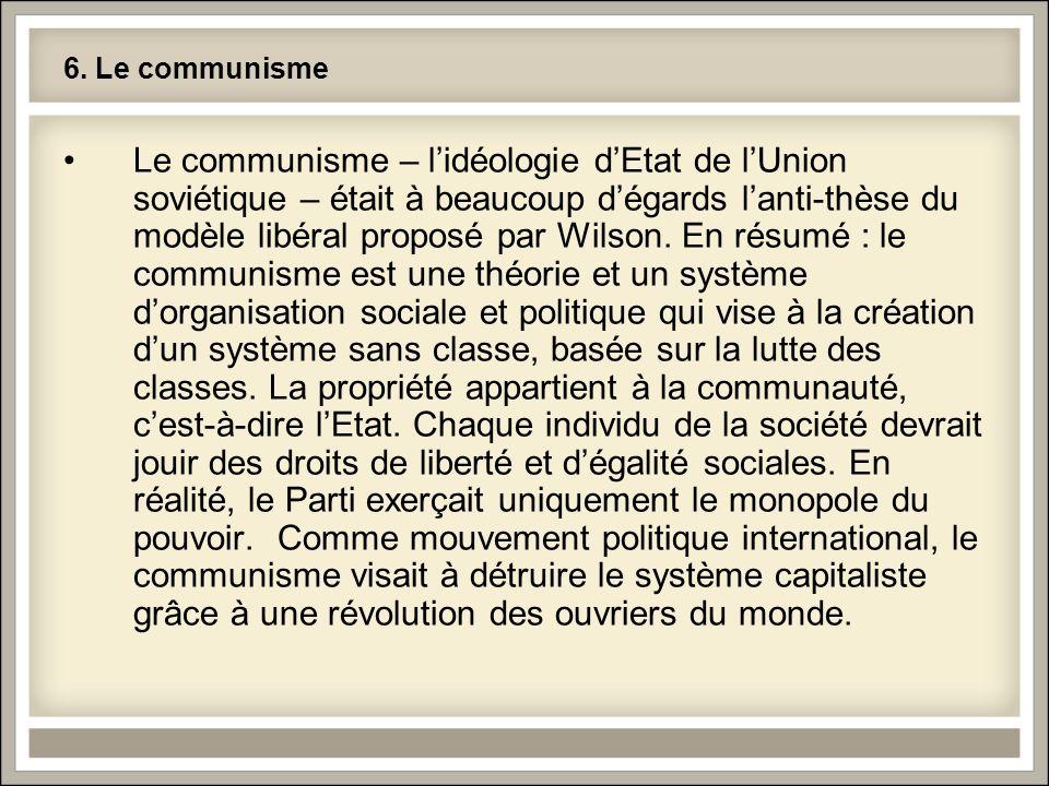 6. Le communisme
