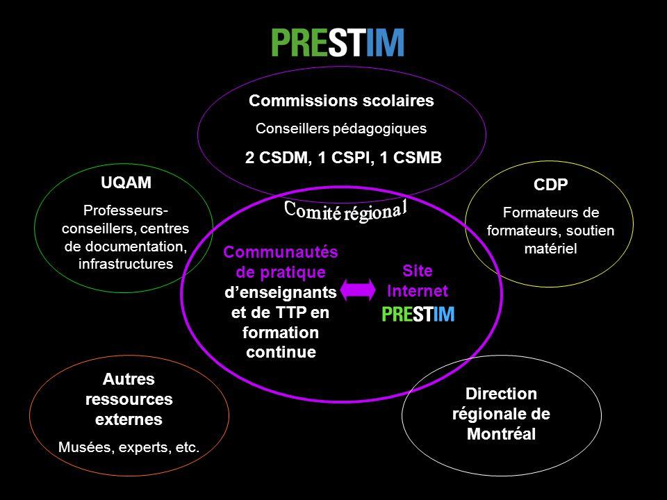 Commissions scolaires 2 CSDM, 1 CSPI, 1 CSMB