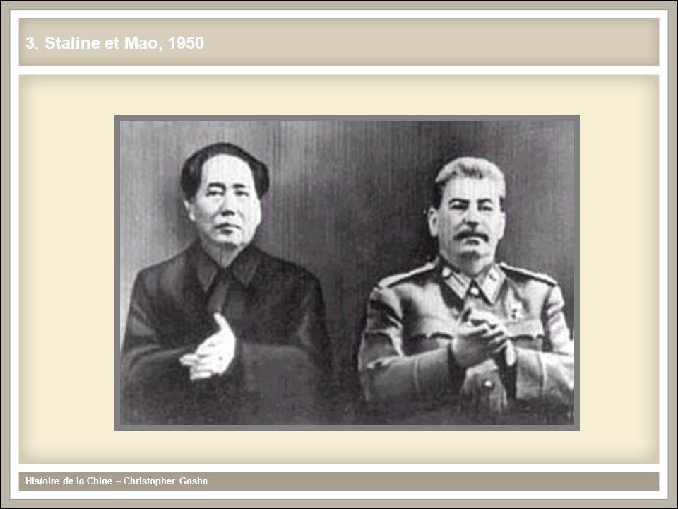 3. Staline et Mao, 1950 Histoire de la Chine – Christopher Gosha