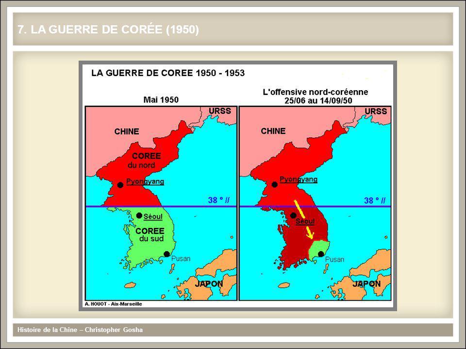 7. LA GUERRE DE CORÉE (1950) Histoire de la Chine – Christopher Gosha