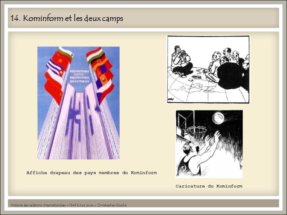 14. Kominform et les deux camps